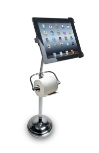 World's Greatest Invention: iPad Toilet Paper Stand | The ...