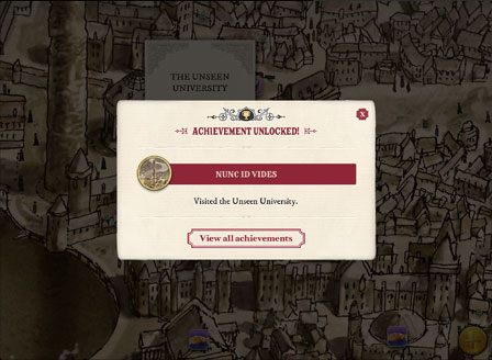 Terry Pratchett's Discworld is Brought to Life in New App: The Map of Ankh-Morpork e-Reading Software