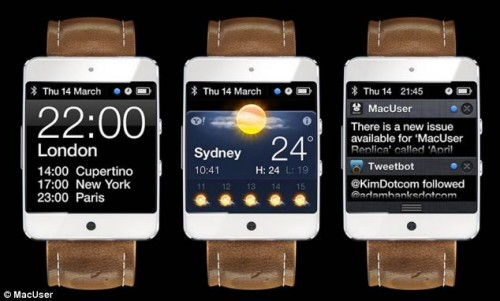 New iWatch Concept Revealed - Just Not One From Apple Apple