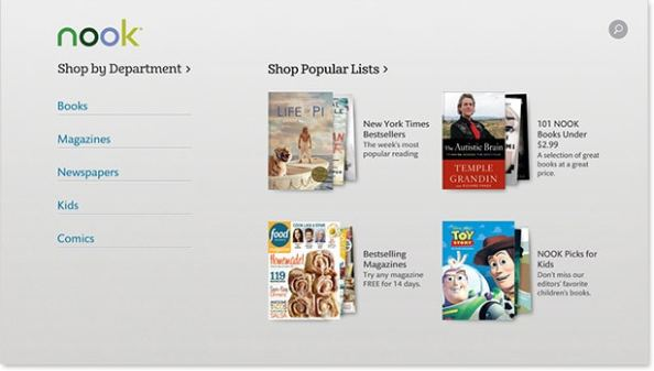 B&N Releases New Update for Nook Windows 8 App, Continues to Neglect Other PC and Mac Apps Barnes & Noble