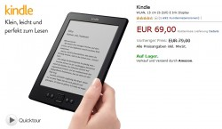 Curious: The Kindle Has a New Price in Germany (69 Euros) But Not in the Rest of Europe Amazon e-Reading Hardware