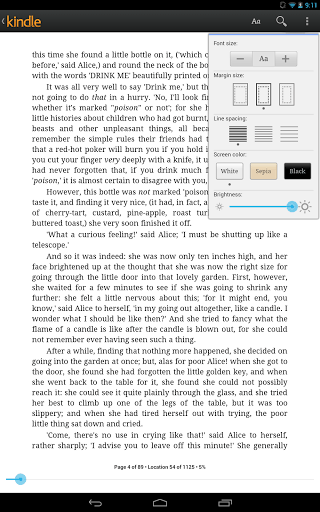 Kindle For Android Updated With More Textbooky Goodness Amazon e-Reading Software Kindle