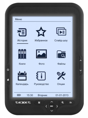 teXet to Launch a Frontlight-Equipped eReader in Russia e-Reading Hardware