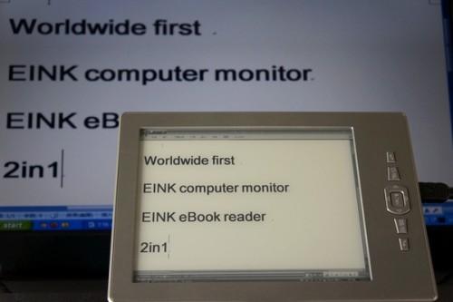 e-ink minitor