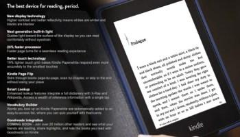 Original Kindle Paperwhite (2012) Update v5 6 1 1 Adds Wordwise