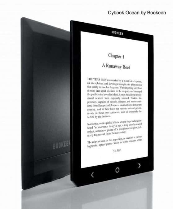 "Bookeen's New 8"" eReader Unveiled e-Reading Hardware"