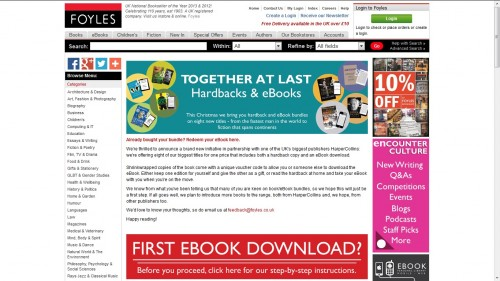 foyles ebook bundle