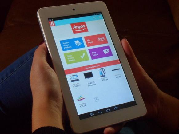 Argos to Launch £99 Tablet Later This Week e-Reading Hardware
