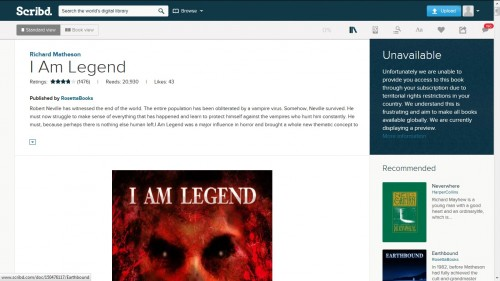 Content Availability is Going to be the Achilles Heel of Scribd's New eBook Service Streaming eBooks