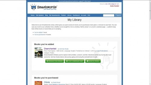 Smashwords is Now Beta-Testing Kindle and Dropbox Integration eBookstore