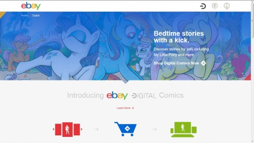 Ebay Gets Into Digital Comics - Fun Times are Ahead eBookstore