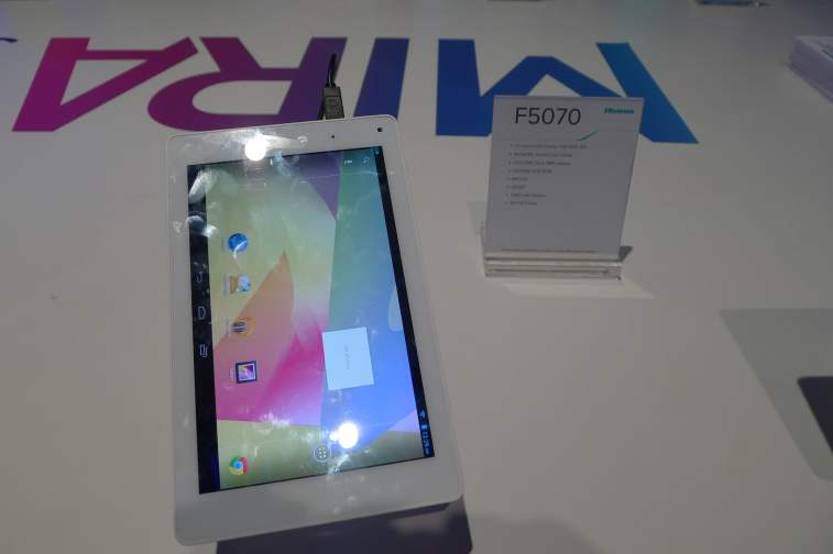 Hands On With the New Hisense Tablets Conferences & Trade shows e-Reading Hardware