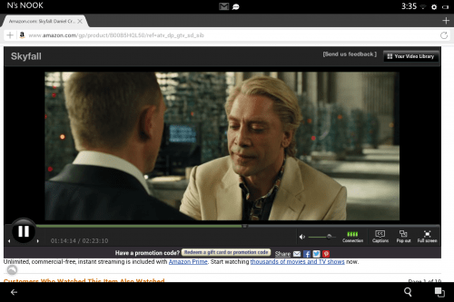 How to Stream Amazon Instant Video on Android Tablets