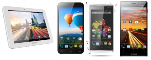 Archos Unveils New Smartphones, Android Tablet e-Reading Hardware