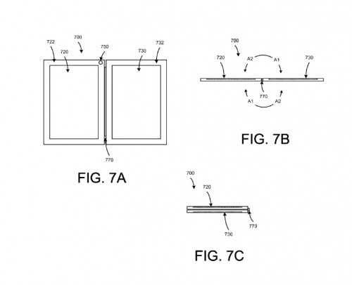 Google Files for a Patent on a Family of Dual-Screen eBook Readers Google Intellectual Property