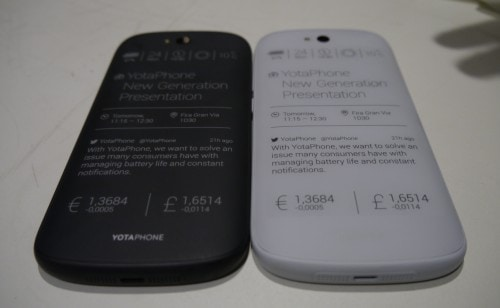 Yotaphone 2 to Launch/Ship on 11 December, cost 699 Euros (?) e-Reading Hardware