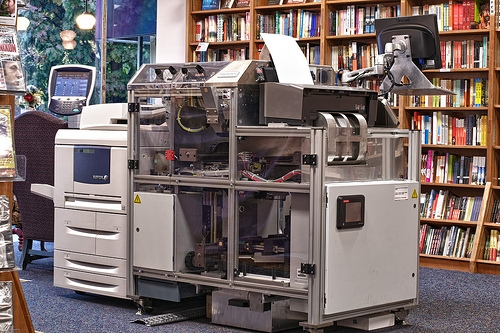 Books-a-Million is Pleased with its Espresso Book Machine Pilot Bookstore POD