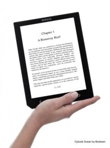 "Bookeen's 8"" Cybook Ocean eBook Reader Delayed Again e-Reading Hardware"