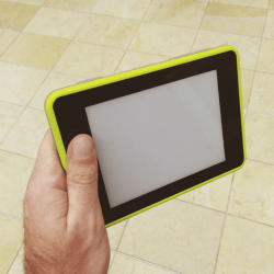 Earl E-ink Android Tablet Caught on Film (video) E-ink e-Reading Hardware