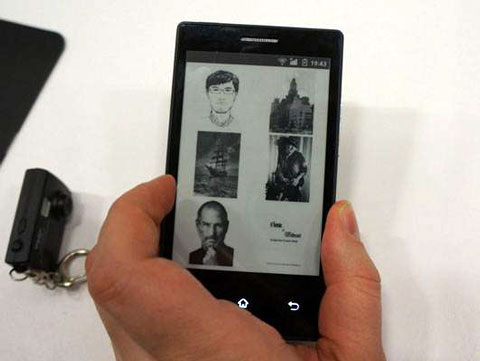 Onyx E-ink Smartphone Gets New Name & Launch Partner in Poland E-ink e-Reading Hardware