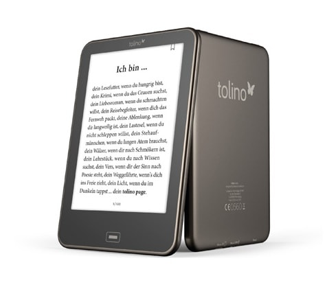 New Tolino Vision eReader Leaked on Design Website e-Reading Hardware