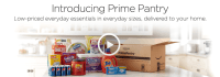 Amazon Launches Prime Pantry - a $6 Shipping Charge Aimed Across the Bow of Target Amazon