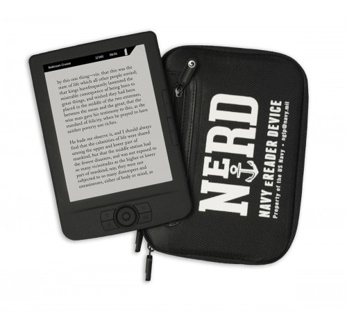 Findaway World Expands Playaway Distribution with new NeRD (Navy eReader Device) E-ink e-Reading Hardware