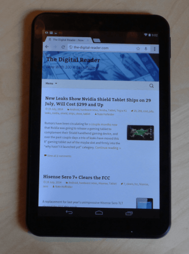 Review: Hisense Sero 8 is Good but Not Great   The Digital Reader