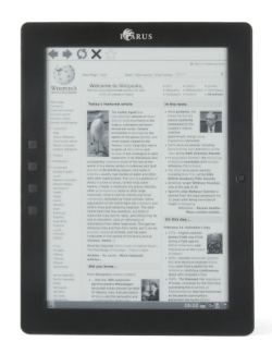 "Icarus Excel 9.7"" E-ink eReader Updated, Now Runs Android E-ink e-Reading Hardware"