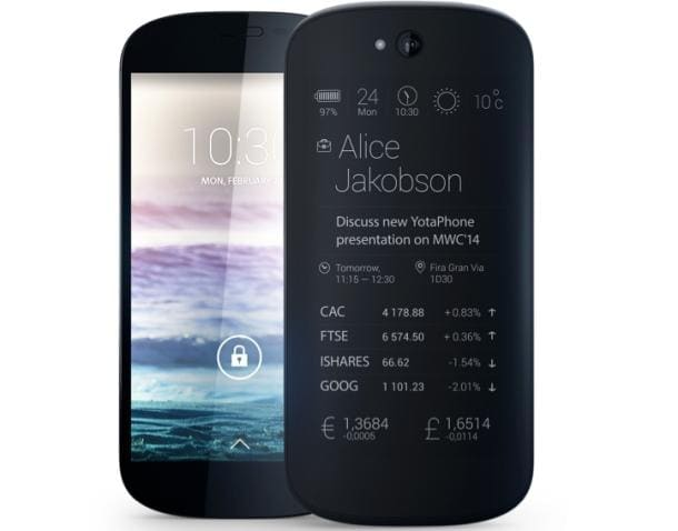 Yotaphone 2 Shows up at the FCC, Spills its Guts e-Reading Hardware