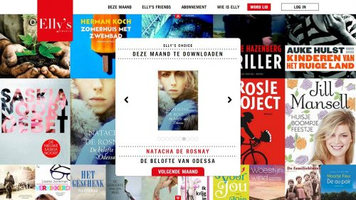 Elly's Choice Offers a New Book Club Style eBook Subscription Service in the Netherlands Streaming eBooks Subscriptions
