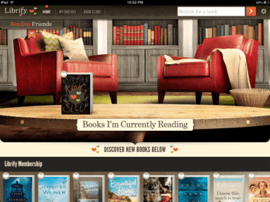 Librify Launches a Digital Book Club Subscriptions