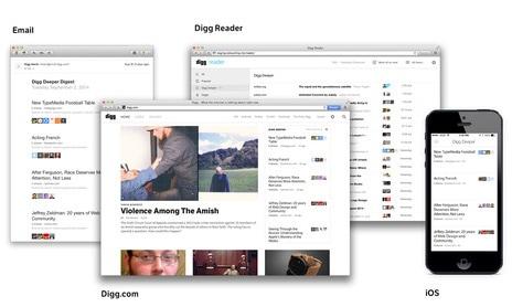 Digg Expands Digg Deeper with Reader, iOS App Integration Aggregators