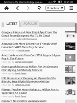 Voyage vs Paperwhite Comparison Review: the Web Browser E-ink Kindle Reviews Web Browser