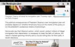 Hands On With the New & Old Washington Post Android App e-Reading Software