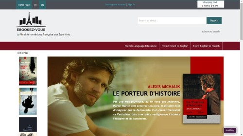 Numilog launches French-language ebookstore in the US eBookstore