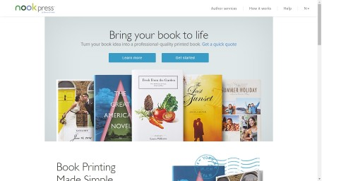B&N Expands into POD, Adds Print  & Author Services to Nook Press Self-Pub