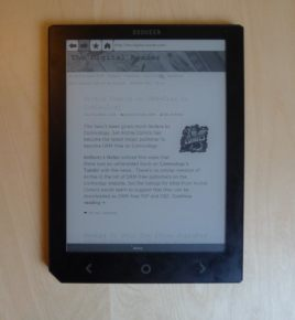 Review: Bookeen Cybook Ocean is Deficient, Disappointing, and Defective Reviews