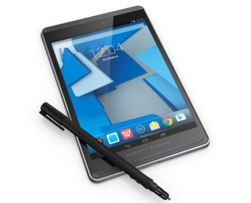 "HP Steals a March on Apple, Releases a 12"" Tablet With a Paper-Loving Stylus e-Reading Hardware"