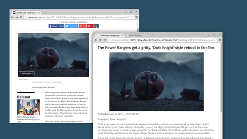 Google Launches Distraction-Free Reading Mode for Chrome, But It's Not Worth Using Save for Later Web Browser