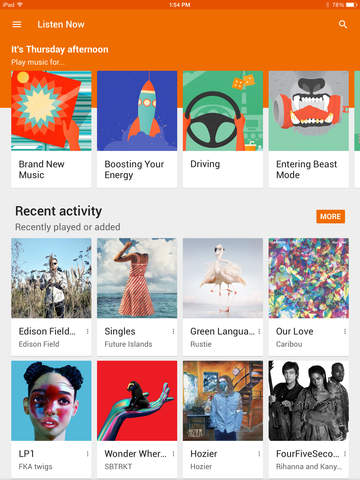Google Play Music Now Available on the iPad e-Reading Software Google
