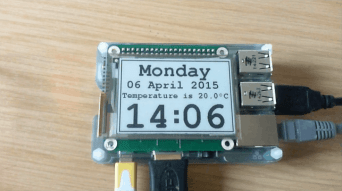 PaPiRus from Pervasive Displays Adds an E-ink Screen to a Raspberry Pi E-ink e-Reading Hardware