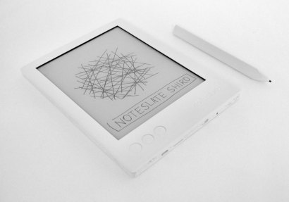 """Noteslate Shiro 6.8"""" Writing Slate Due Out This Fall, Will Cost $199 E-ink e-Reading Hardware"""