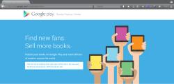 Partner Center google play books
