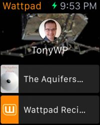 wattpad apple watch iwatch