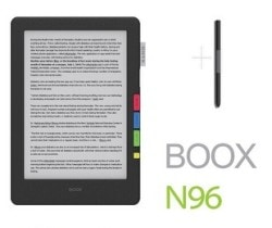First Glimpse of the New Onyx Boox N96 eReader e-Reading Hardware