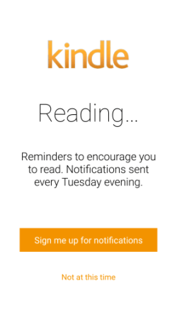Amazon Wants to Make Sure You're Eating Your Vegetables  -Er- Reading Enough Kindle