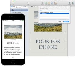 ibooks author iphone