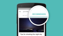 Pocket for iOS, Android v6.0 Adds Recommendations Save for Later