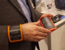 Flexenable Has Moved On From Flexible eReaders to Wearables (Video) e-Reading Hardware Screen Tech